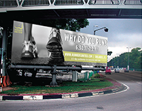Runners United Outdoor Ad Compaign