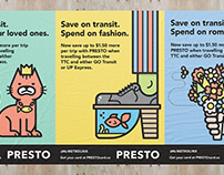 PRESTO Advertising / Illustrations
