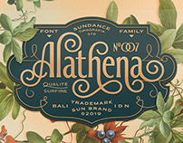 Alathena Font Family
