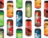 Windswept Orchard & Cider branding