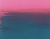 THE HORIZON BLENDS // SCREENPRINT