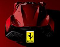 Ferrari CascoRosso (3D)