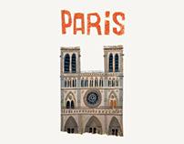 Paris illustration.