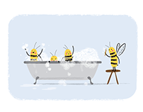 Bumble Bee Bubble Bath