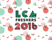 Leeds College of Art Fresher's 2016