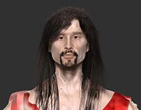 Japanese Ballet Dancer 3d avatar model