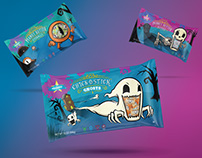 Atkinson's Candy - Halloween Packaging & Illustration