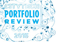 CityTech Portfolio Review 2015 postcard