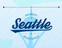 Random Seattle illustration