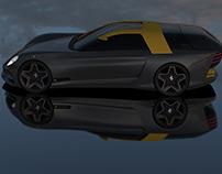 Ferrari 330 Vignale Shooting Brake 2025 (2D & 3D)