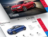 Honda Autoshow touchscreens