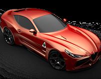 Alfa romeo coupe concept