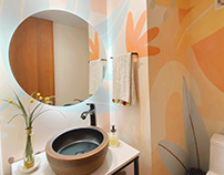 Bathroom Wallpaper Design