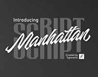 Manhattan Script - Free Font for Personal Use