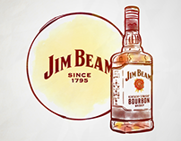 Jim Beam | Internal Comms Campaign