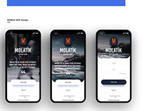 Molatik Web Mobile App