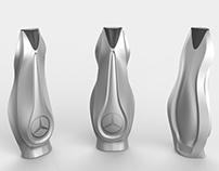 Mercedes-Benz Sculpture Shampoo Bottle Design