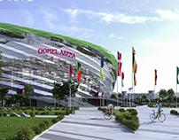 Football stadium project