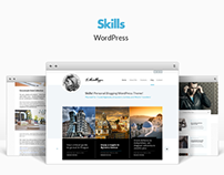 Skills - Responsive WordPress Blog Theme