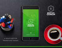 BookMyCoach - Health / Fitness Mobile App Design : iOS