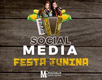 Social media festa junina 2019 - Matheus Mídia Digital