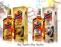 Packaging Design For McDowell's No. 1 Whisky