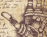 The Last surviving notes of the steampunk Frankenstein