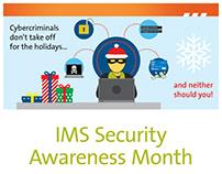 Security Awareness Month flyer