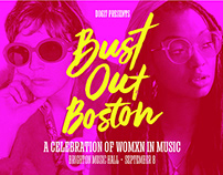 Bust Out Boston Branding