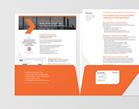 Brand design sales collateral brochure
