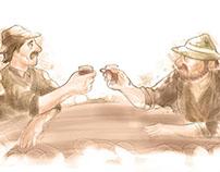 Drinking farmers