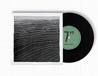 Ben Howard vinyl sleeve design