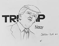 Inktober 2016 day 2 - Noisy