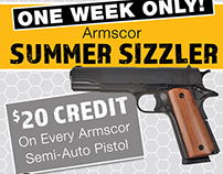 Simmer Sizzler Email Ad