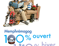 100 % ouvert, 100 % hiver