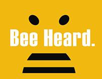 Bee Heard. Go Vote.