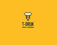 T-druk - Corporate identity & website