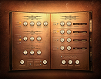 Book of Sounds 2 Kontakt Library vst Gui Design