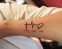 Small Sharp Tattoo Design By Mahi