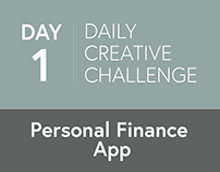 Personal Finance App (Daily Challenge Day 1)
