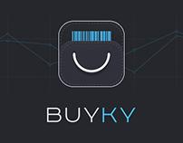 Buyky — App Design & Landing Page