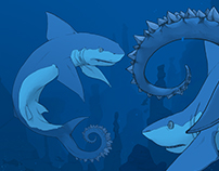 Helicoprion Concept - Tail