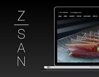 Z San - Website