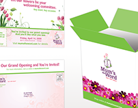Mum's the Word Package Design and Direct Mail