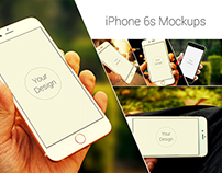 Photorealistic iPhone 6s Mockups