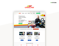 Company website | Client: Carglass