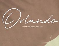 ORLANDO SIGNATURE - FREE SCRIPT FONT