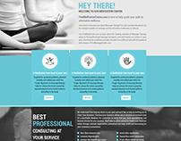 website design, Meditation