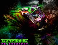 Projeto para equipe Orlando Kryptonite paintball