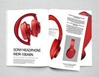 SONY HEADPHONE MDR-100ABN